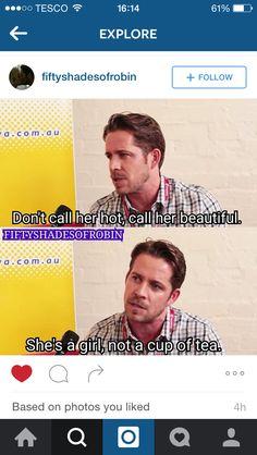 Awwww Sean is so cute!!❤