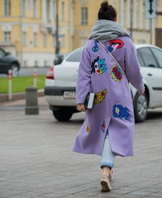 The Best Street Style Pics From Fashion Week Russia Street Style 2016, Looks Street Style, Street Chic, Street Wear, Cool Street Fashion, Look Fashion, Winter Fashion, Fashion Design, Fashion Trends