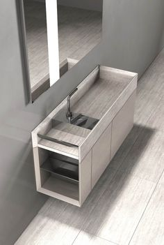 Salvatori Onsen Cabinet Basin and Sink by Rodolfo Dordoni