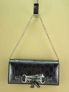1bd83b43303 GUCCI Leopard Print Red Leather Chain Crossbody Bag 354697 NWT  1100 ...