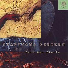 APOPTYGMA BERZERK / SOLI DEO GLORIA / IMPORT CD / excellent condition / rare
