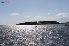 The Rabbits Island (or big Island), in front of Porto Cesareo, Salento, Puglia