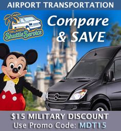 Military Discounts On Orlando Shuttle and Limo Services