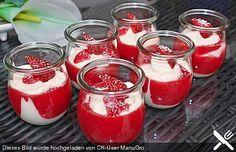 Erdbeeren mit Vanille - Eierlikör - Creme, ein gutes Rezept aus der Kategorie Cremes. Bewertungen: 50. Durchschnitt: Ø 4,6.