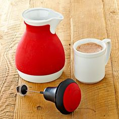 Chef'n Froth & Pour Hot Chocolate Pot   #WilliamsSonoma