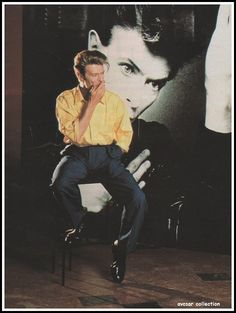 David Bowie - epitome of cool