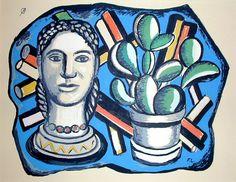 Fernand Leger - Composition, 1954