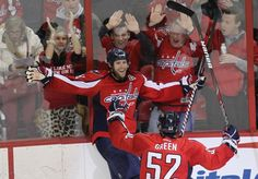 my favourite hockey bromance: Brooks Laich & Mike Green- they're just like us!