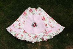 Unique Skirt with roses and fairy