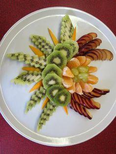 ,,, Fruit Salad Decoration, Food Decoration, Cake Decorations, Fruit Buffet, Fruit Dishes, Fruit Presentation, Deco Fruit, Creative Food Art, Fruit And Vegetable Carving