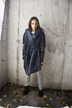 by Magda Hasiak: MMXIVSET #magdahasiak #MMXIVSET #fashion #womanfashion #fashionjacket #bluejacket #winterfashion #nylonjacket #casuallook #autumnfashion #streetlook #elegantwoman #fashionlook #designerslook