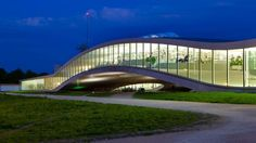 Japanese architects Sanaa created the gentle gravity defying loops of the Rolex Learning Centre in Lausanne #Travel