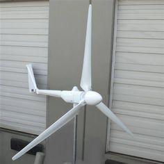 ALEKO Green Energy Wind Turbine Power Generator 3 Blades for sale online Gas Powered Generator, Wind Power Generator, Water Turbine Generator, Diy Generator, Solar Panels For Home, Best Solar Panels, Solar Energy, Solar Power, Renewable Energy