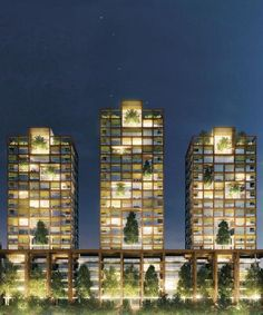 Residential towers, Milan (IT), 2010 (unbuilt)