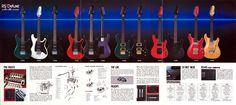 Ibanez Roadster ii Deluxe Series Catalog - 1984