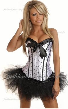 Sweetheart Discount Black Whit White Beam Waist Strapless Corset Bustier Tops Dress [Corset Bustier Tops Dress] - $40.00 : Fashion Bustier Corset Tops Dress Sale, Up 50% Off