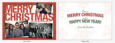 A Rigo Design Christmas Card for the Dawkins family. Photos by JoshFisher.co