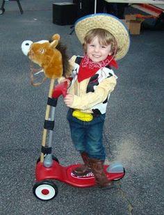 """Naturally Chic Mama: DIY """"Woody"""" Costume"""