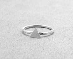 Sample Sale Triangle Ring Over the Knuckle by GirlBurkeStudios, $12.00