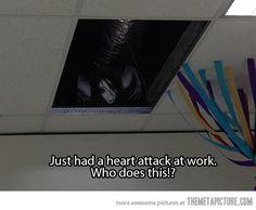 Scariest prank ever…