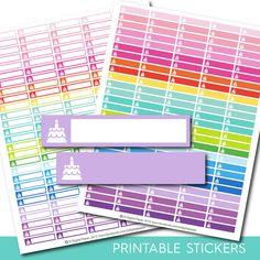 Birthday stickers, Birthday planner stickers, Birthday printable stickers, Birthday sticker, Cake stickers, Happy Birthday stickers, STI-149