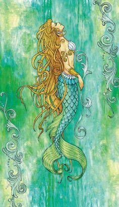 Watercolor mermaid with Celtic styling Mermaid Artwork, Mermaid Drawings, Mermaid Tattoos, Mermaid Paintings, Mermaid Sketch, Fantasy Mermaids, Real Mermaids, Mermaids And Mermen, Mermaid Fairy