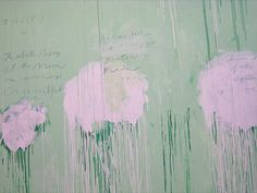 Cy Twombly - Untitled (Peony Blossom Painting), 2007