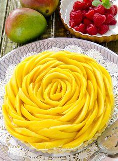 Mango Tart! ©Cass Greene Photography. #food #photography ❤️