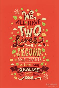 35 Beautiful Brightly Colored Typography & Retro Lettering by Risa Rodil Words Quotes, Me Quotes, Motivational Quotes, Inspirational Quotes, Sayings, Qoutes, Author Quotes, Strong Quotes, Uplifting Quotes