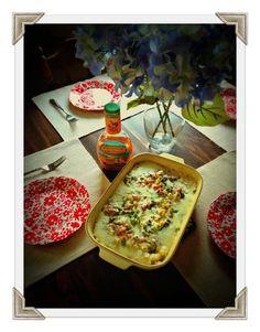 I created My Veggie & Chicken Love Rice Bake with Hidden Valley Farmhouse Italian #hiddenvalleyit