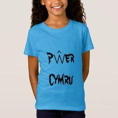 Pŵer Cymru Welsh Power in Welsh T-Shirt #gaircymraeg #pŵercymru #welshpowerinwelsh #language #TShirt Welsh Words, Types Of T Shirts, Foreign Words, Fathers Day Shirts, Cymru, Fitness Models, T Shirts For Women, Casual, Sleeves