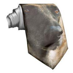 German Shepherd Necktie