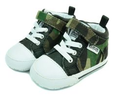 Loving this Army Camo Stockton high-tops. Perfect addition to your little boys fall wardrobe!!