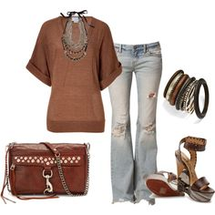 """""""brown"""" by marnifox on Polyvore"""