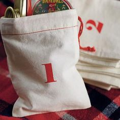 Christmas Countdown Goodie Bags by The Land of Nod