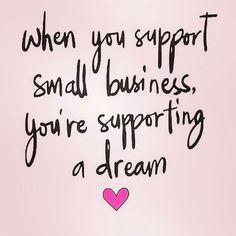 Small thank you quotes: chloe+isabel ideas. Small Business Quotes, Support Small Business, Small Business Saturday, Business Ideas, Business Thank You Notes, Farmasi Cosmetics, Thank You Quotes, Thank You Customers Quotes, Motivational Quotes