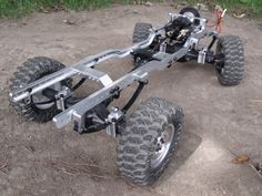 GCM 4TEN Leaf Spring Scale Truck Chassis - Scale 4x4