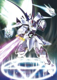 Cybuster, Cybaster, Mecha, Super Robot Taisen, SRW, SRT Fantasy Armor, Dark Fantasy Art, Super Robot Taisen, Metal Robot, Anime Rules, Cool Robots, Sci Fi Armor, Gundam Art, Mecha Anime