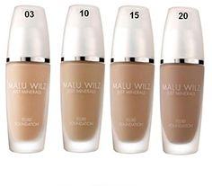 MALU WILZ - Just Minerals - Fluid Foundation Light Sunny Sand Nr. 03
