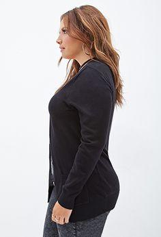 Buttoned V-Neck Cardigan | FOREVER 21 - 2000067896