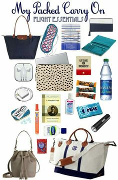 What's In My Carry On / European Flight Essentials european travel tips … – travel outfit plane long flights Travel Bag Essentials, Road Trip Essentials, Travel Checklist, Airplane Essentials, Road Trip Checklist, Carry On Packing, Packing Tips For Travel, Travel Bags, Suitcase Packing