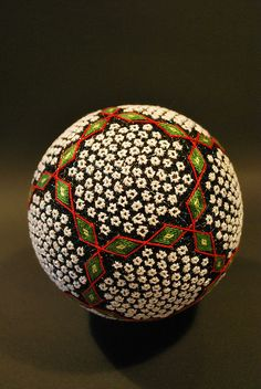 TEMARI Japanese Thread art .. May2009_my 88yrs old grandma's works : TEMARI by NanaAkua, via Flickr