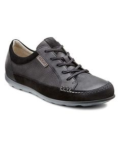 Another great find on #zulily! Black & Quarry Cayla Suede & Leather Sneaker - Women #zulilyfinds