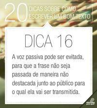 Português Na Tela Escreva Um Bom Texto Dica 5 Dicas