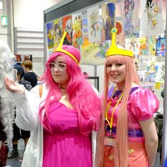 So, last weekend I went to MCM Comic Con and it took me all week to recover enough to write this post! I dressed up as Princess Bubblegum and met TomSka! Princess Bubblegum Cosplay, Bubble Gum, Ethereal, I Dress, Harajuku, Take That, Writing, Comics, Fashion