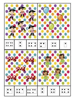 Counting Activities, Craft Activities, Theme Carnaval, Clown Crafts, Pre School, Sprinkles, Kindergarten, Presents, Clip Art