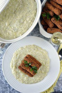 Kapros tökfőzelék tojáskrokettel recept - Kifőztük, online gasztromagazin Palak Paneer, Hummus, Curry, Food And Drink, Tasty, Ethnic Recipes, Kitchen, Curries, Cooking