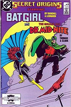 Secret Origins #20 (1987): The Secret Origin of Dr Mid-Nite: Amazon.com: Books Comic Book Publishers, Dc Comic Books, Time Warner, Warner Bros, Kindle App, American Comics, Batgirl, Origins, Book Publishing