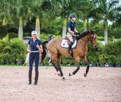 Part 1: Olympian Christine Traurig preaches the principles of flatwork at the…