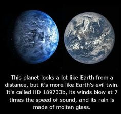HD seriously crazy to think such variations happen.and our planet perfect for us so why don't we all love it more? Space Facts For Kids, Outer Space Facts, Astronomy Facts, Space And Astronomy, Nasa Space, Astronomy Pictures, Space Planets, Wow Facts, Wtf Fun Facts